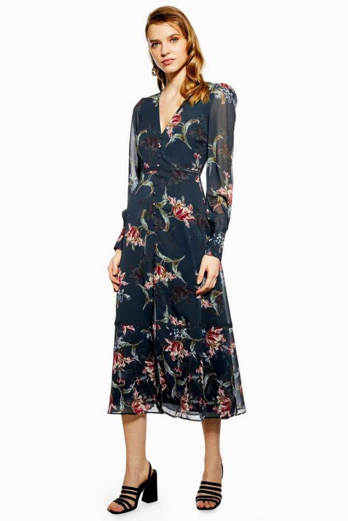 Topshop Floral Midi Dress by Hope & Ivy €98.00. Read more on www.allaboutrosalilla.com