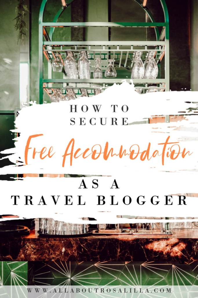 This blog breaks down exactly how to write a successful Hotel pitch and secure free accommodation as a travel blogger. #travelblogger #freeaccommodation #hotelpitch #bloggingresources