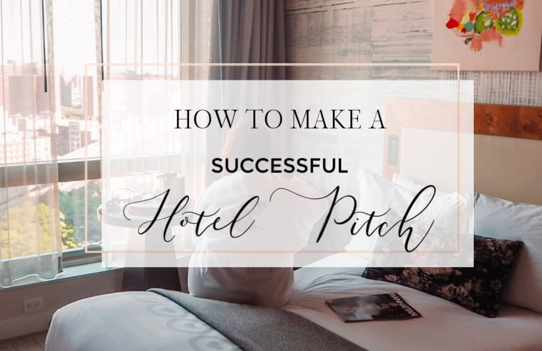 How to write a successful Hotel pitch and secure free accommodation as a travel blogger. Read more on www.allaboutrosalilla.com