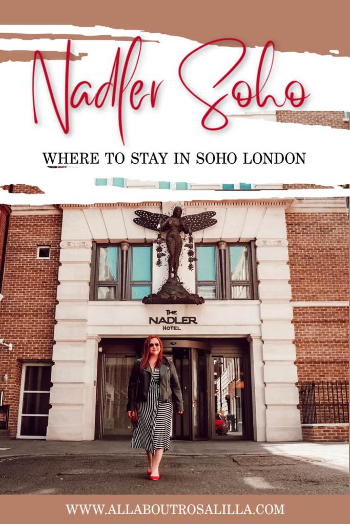 Soho is the perfect area to base yourself in London. Especially if you are staying just one night and you want to pack everything in. It is within walking distance of Chinatown, Picadilly Circus, Covent Garden and Mayfair. My hotel recommendation is Nadler Hotel Soho #london #visitlondon #soho #sohohotel