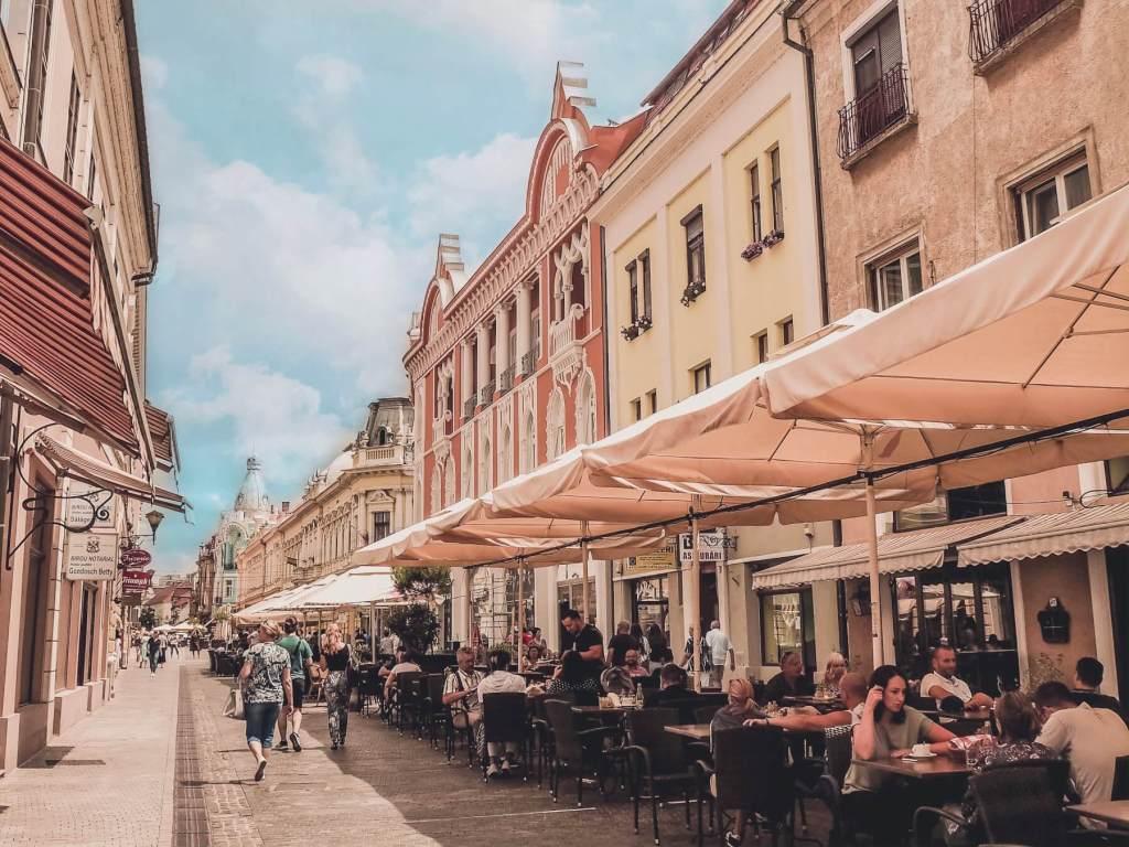 Pretty streets in Romania. Read more on www.allaboutrosalilla.com