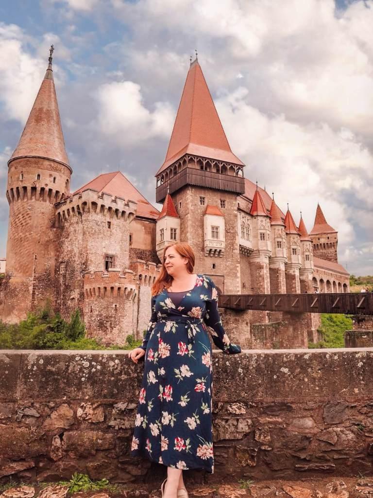 Corvin castle home of Vlad the Impaler in Romania. Read more on www.allaboutrosalilla.com