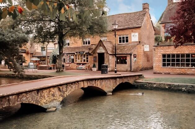 Burton on the water a pretty Cotswolds village