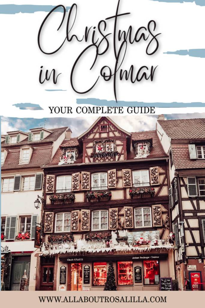 Visiting the Colmar Christmas Market is such a magical experience. Let me guide you through this festival of colours, lights, decorations and everything that is wonderful about Christmas in Colmar, France. Read more on www.allaboutrosalilla.com #christmas #colmar #france #christmasmarket #europe