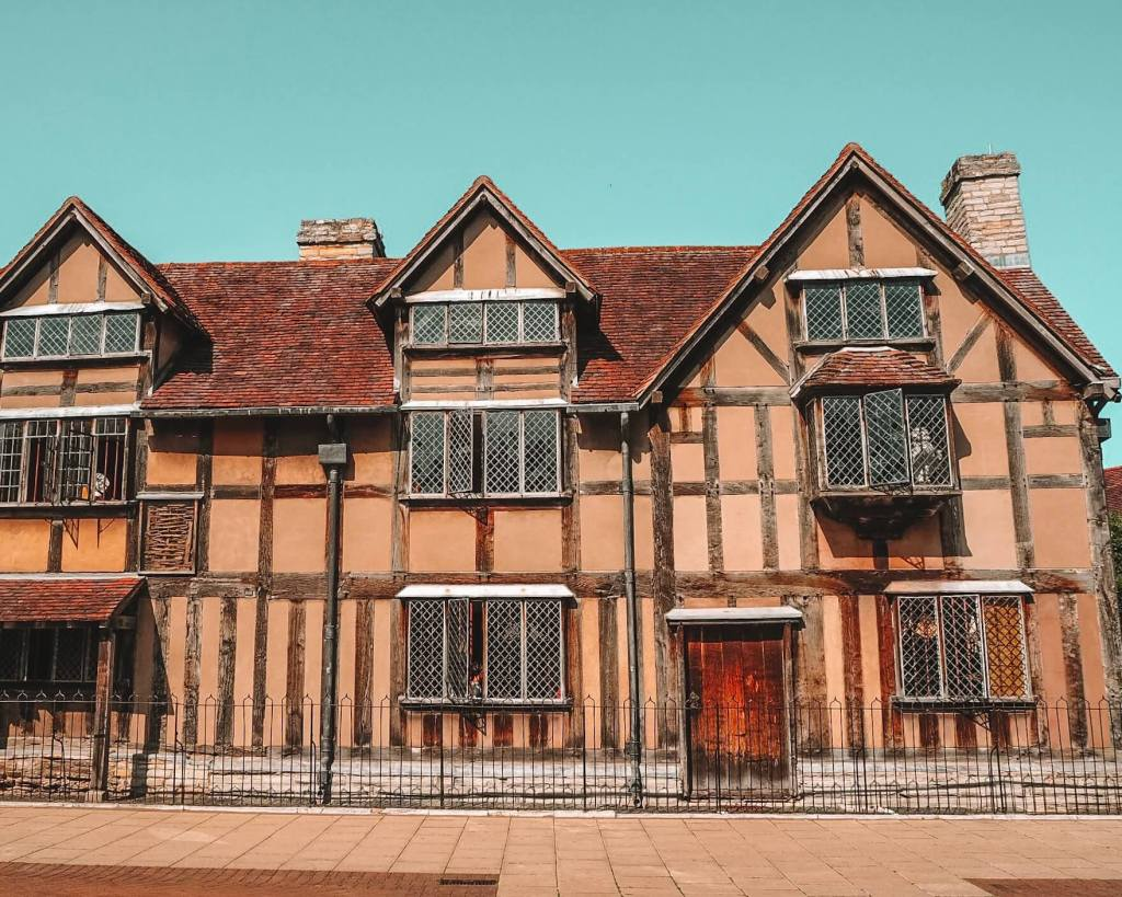 Shakespeare's birthplace in Stratford upon Avon one of Cotswolds best villages