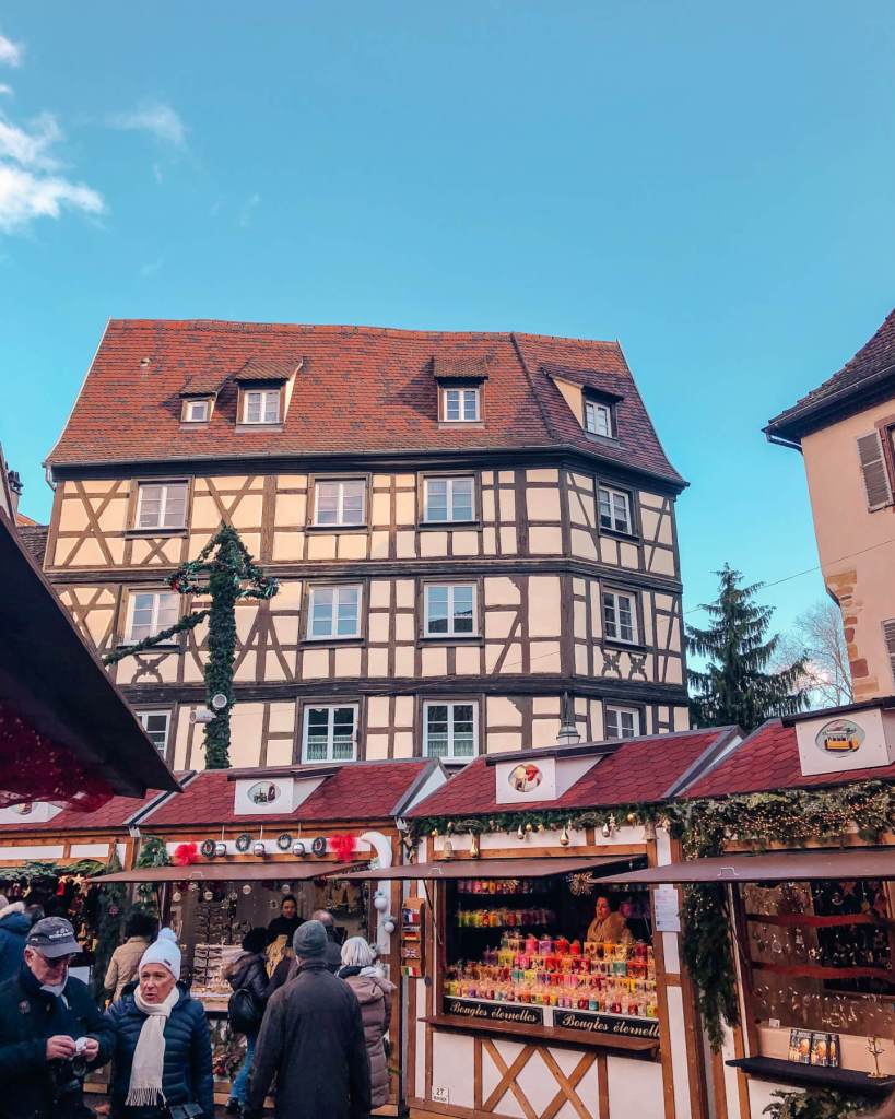 German influence on buildings in the Alsace region of France.
