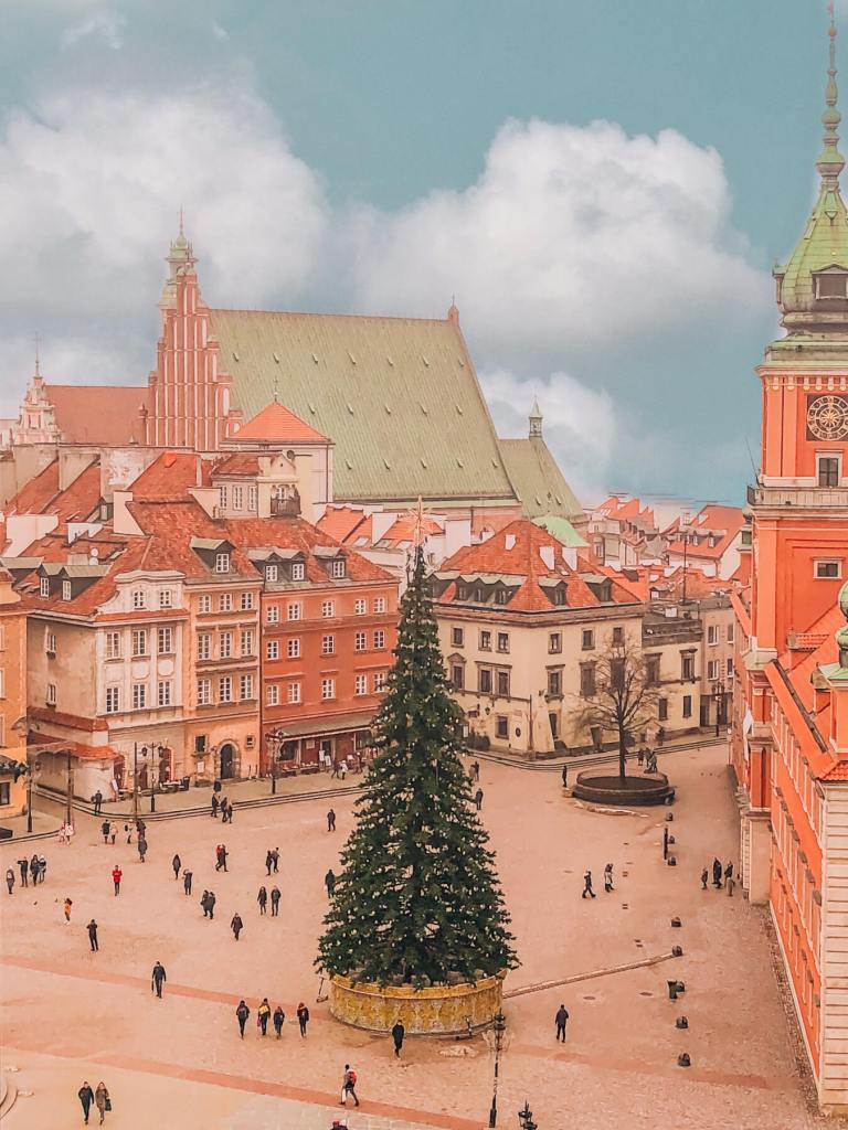 Warsaw at Christmas is so beautiful. Read more on www.allaboutrosalilla.com