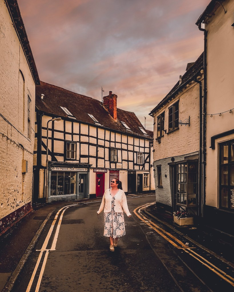 Tudor buildings in Upton-upon-Severn