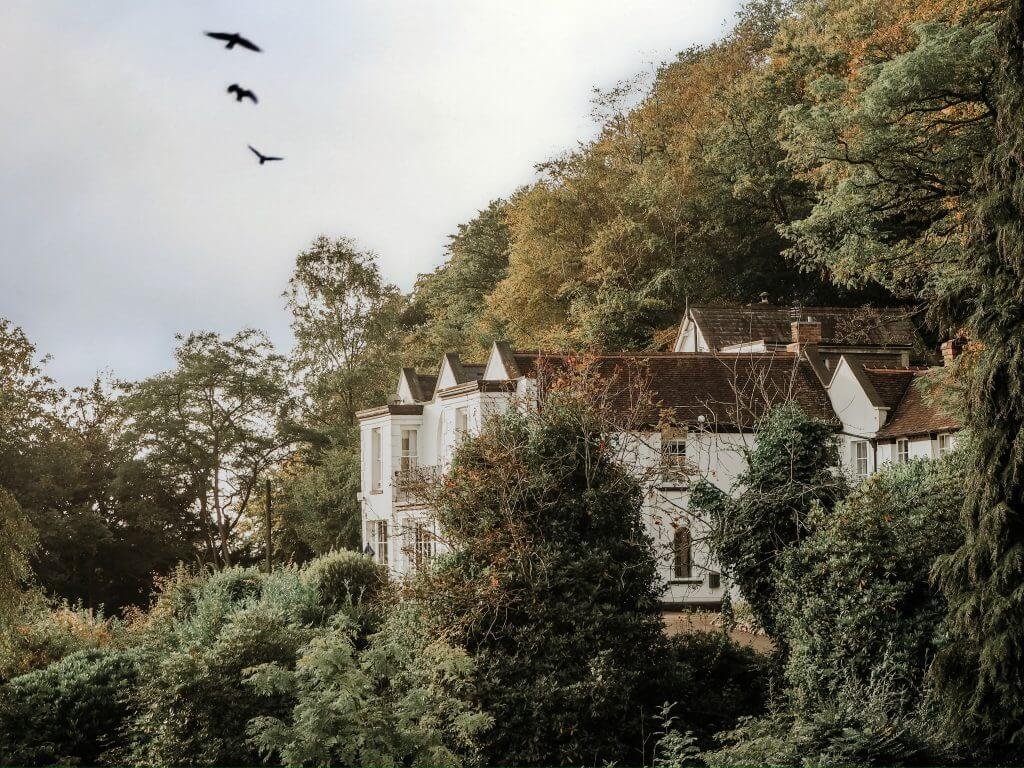 The Cottage in the Wood overlooking the Severn valley in Malvern
