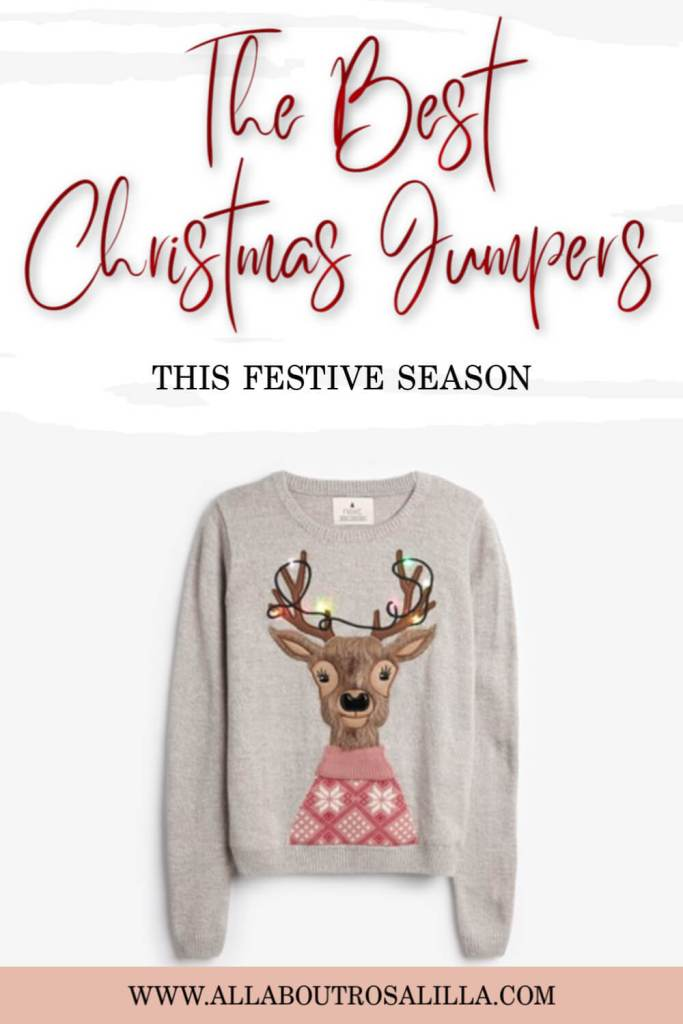 Christmas Jumpers. Ten of the best festive jumpers this Christmas #christmas #christmasfashion #christmasjumpers #christmassweaters #tuesdayten #christmasjumperswomen