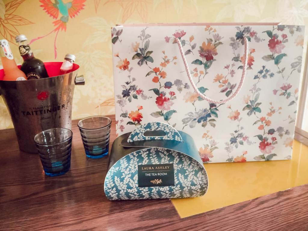 Laura Ashley gifts at The Cornwall. Read more on www.allaboutrosalilla.com