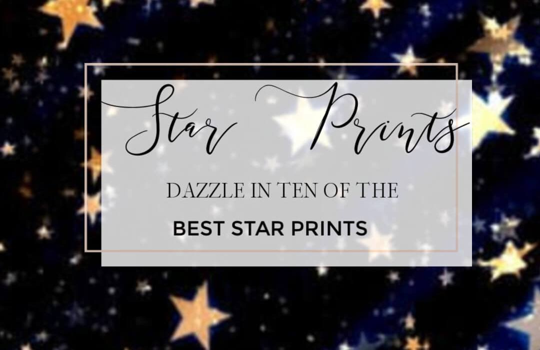When it comes to prints nothing screams the festive season more than a sparkly star print. I can't think of a better way to shine than to be adorned in a fantastic star fashion and let's face it, this is one print that comes back season after season so you can be sure that star print pieces are a fabulous investment to make. #festivefashion #starfashion #starfashionprint #holidayfashion