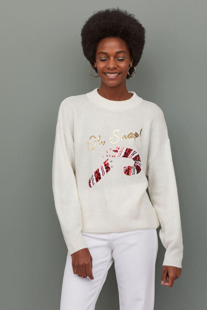 H&M Sequin-motif jumper €19.99