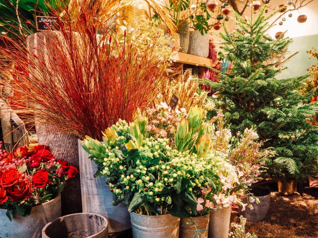 Beautiful flower shops in Hamburg Germany