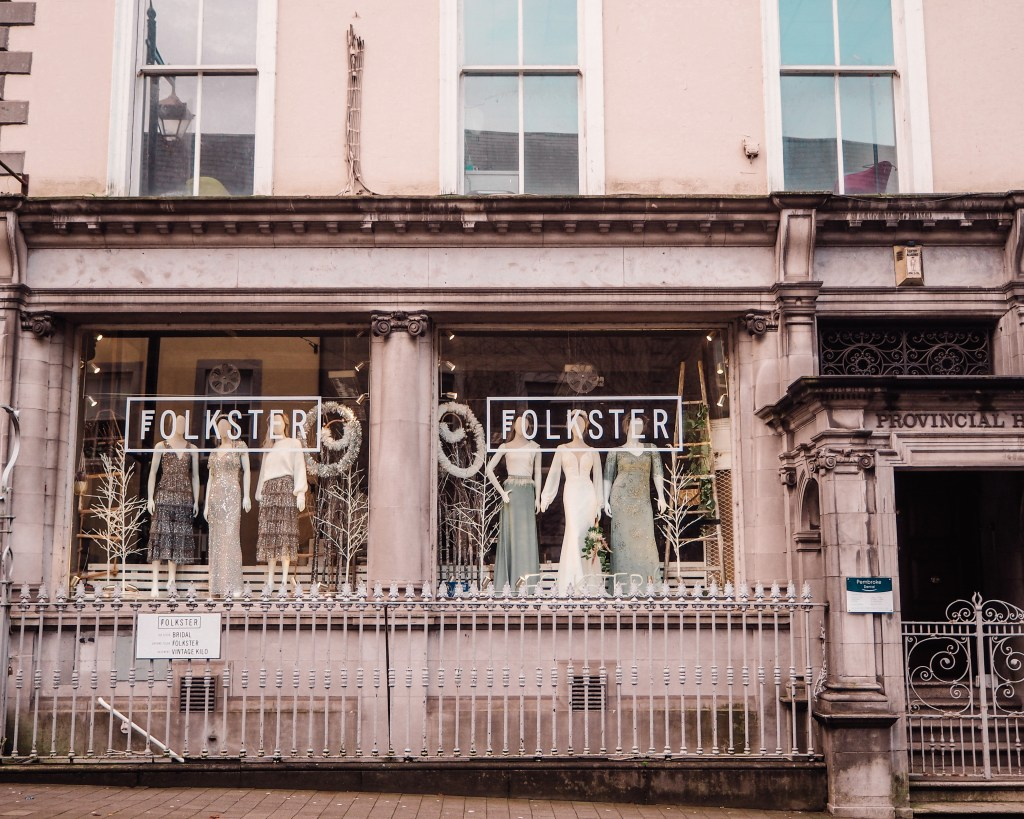 Folkster Shop front in Kilkenny