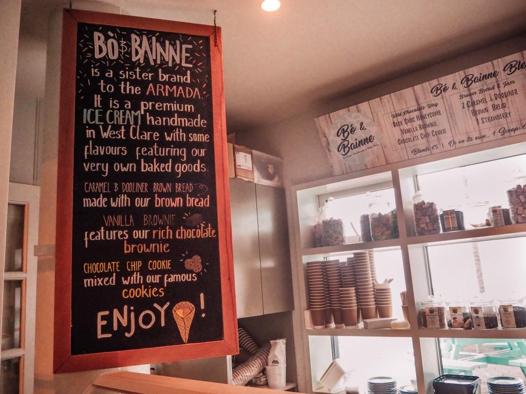 Ice cream counter at Armada Spanish Hotel