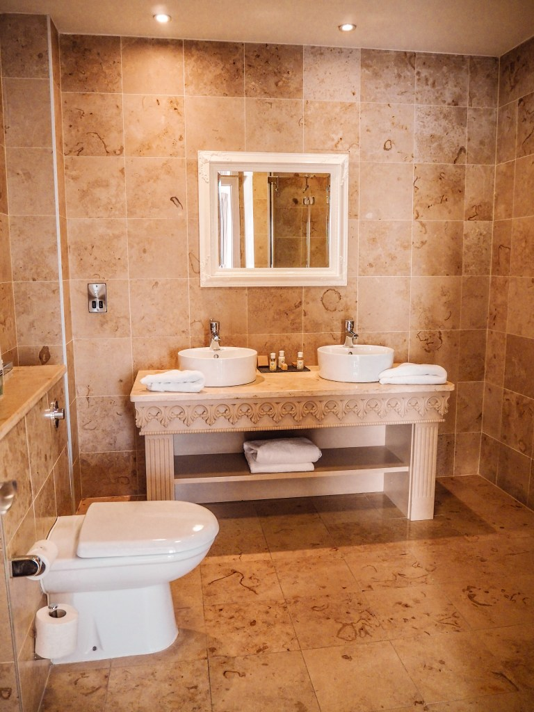 Marble bathroom at Armada Spanish Point Hotel