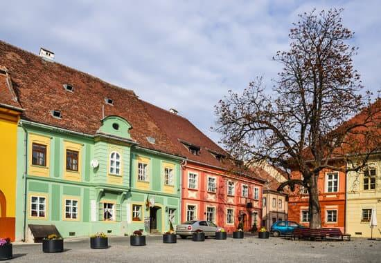 Medieval center of Sighisoara, only inhabited medieval fortress in Europe, landmark of Transilvania, Romania
