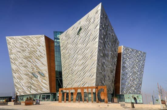 Titanic Museum in Belfast city Northern Ireland
