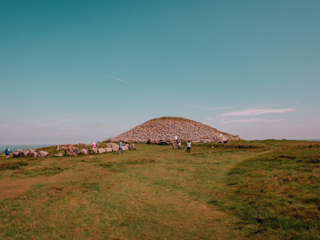 One of the things to do in County Meath is visit Loughcrew Cairns Neolithic Passage tombs in County Meath Ireland