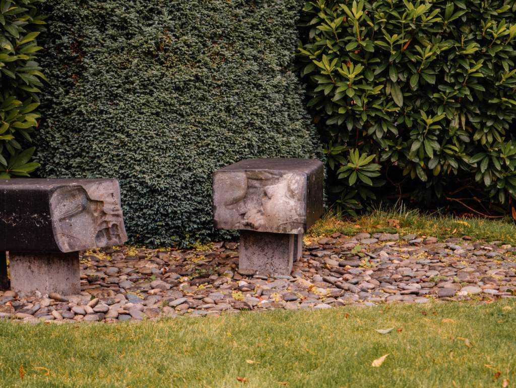 Sculpture at Shekina Sculpture Garden
