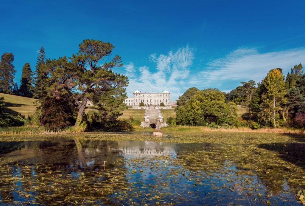 Powerscourt Estate in Wicklow Ireland
