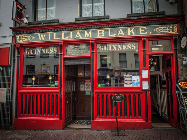 Exterior of Blakes of the Hollow in Enniskillen County Fermanagh