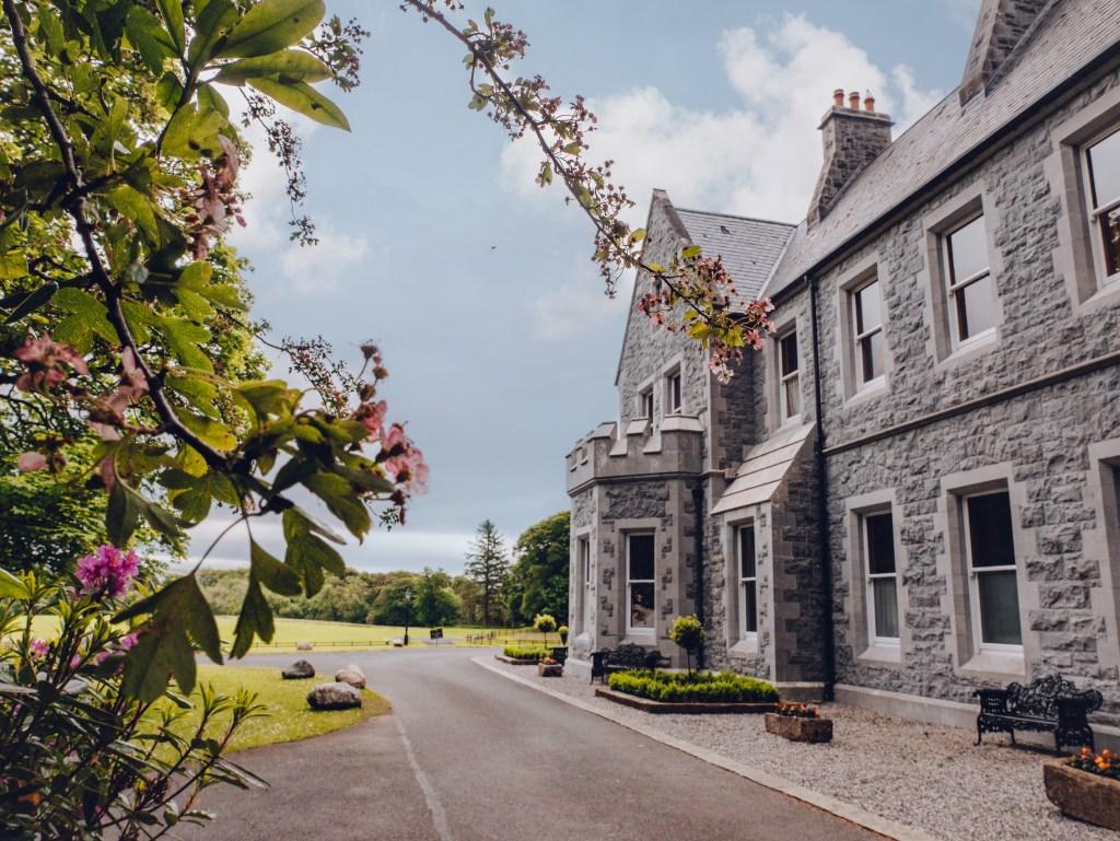 Exterior of Mount Falcon Estate Ireland