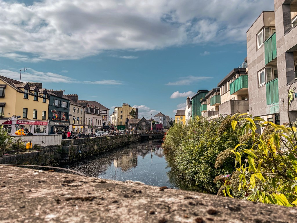 The west end of Galway city