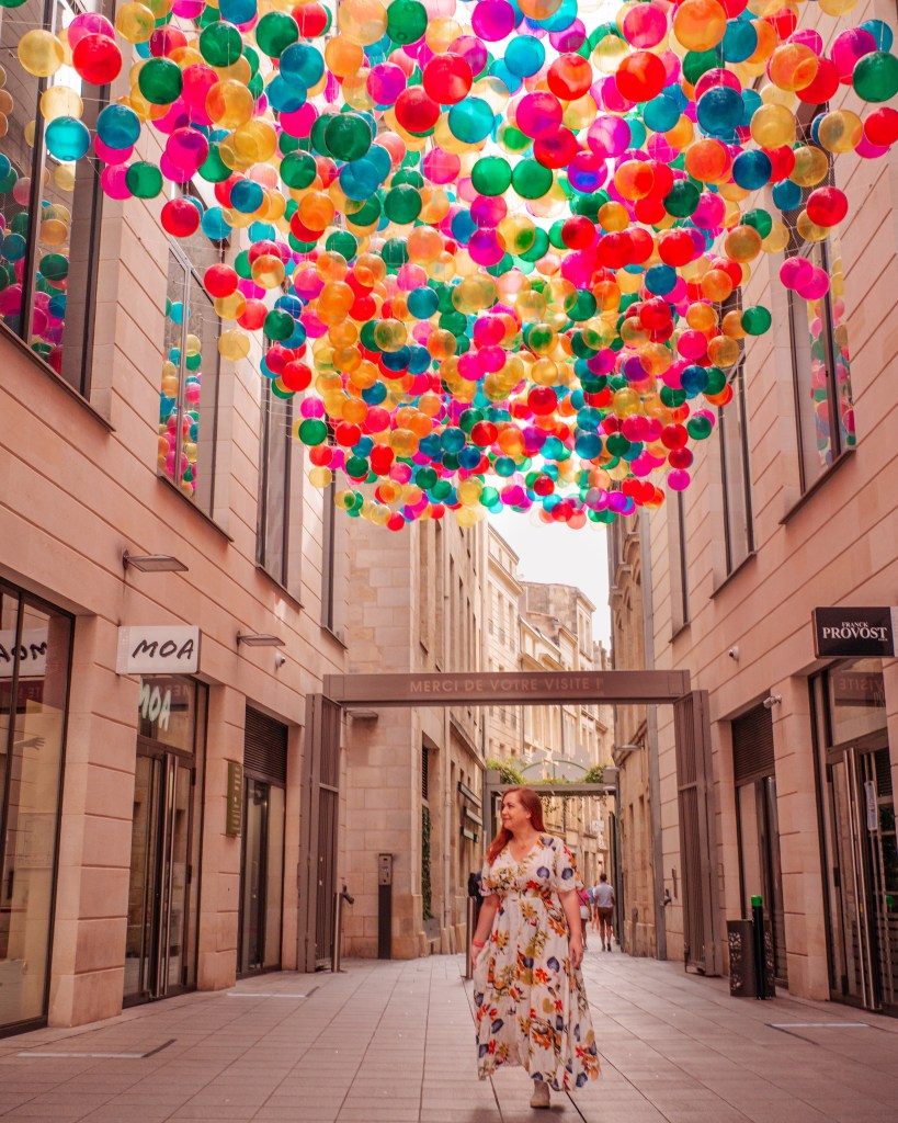 The best Instagram spots in Bordeaux can be found at Promenade Sainte Catherine