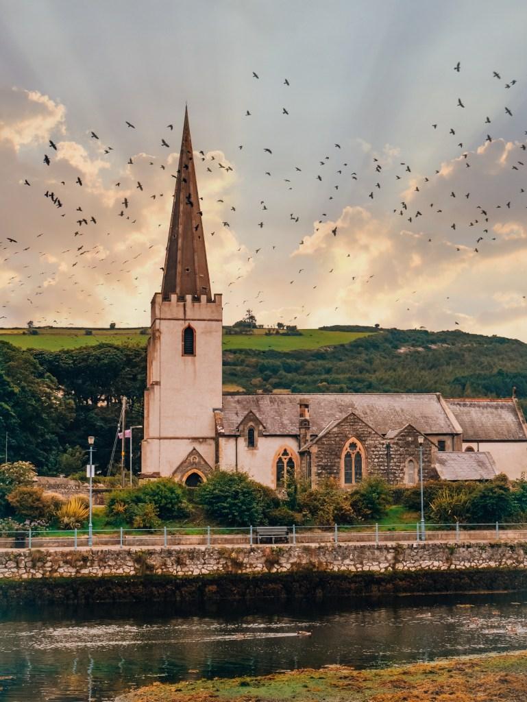 Church at Glenarm a hidden gem in Antrim
