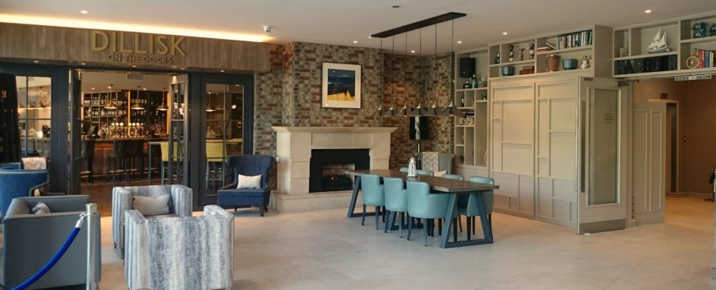 Restaurant at the Harbour hotel galway a perfect base for a weekend break in Galway