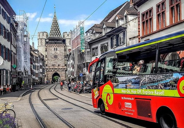 Basel City Sightseeing Bus Tour