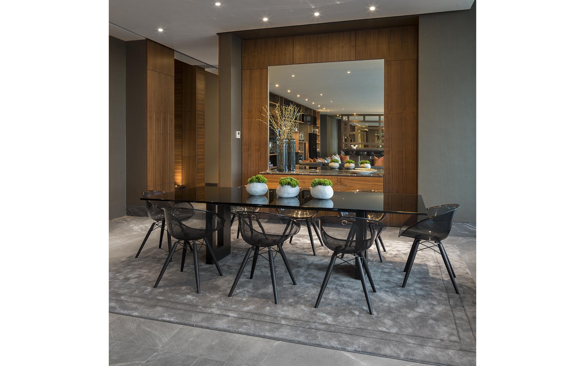 Painel Para Sala De Jantar Painel De Tv Textura De Parede Arenosa  -> Sala De Jantar Com Painel De Madeira E Espelho