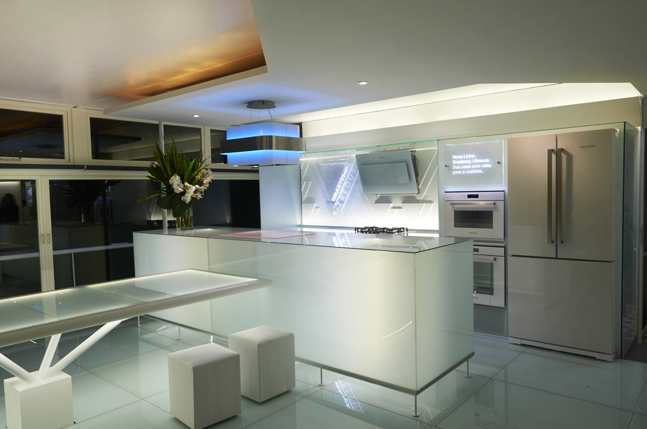 Cozinha Em Vidro All About That Glass
