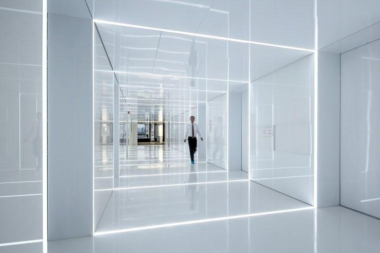 Escritório de vidro