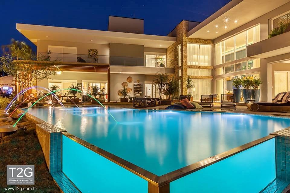 Medidas de piscinas de casas stunning piscina de vidro - Medidas de piscinas de casas ...