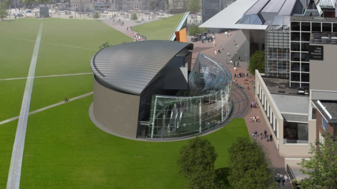 Fachada do Van Gogh Museum