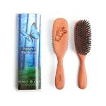 100% Pure Wild Boar Bristle Hair Brush