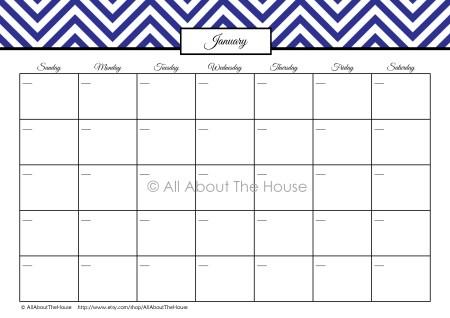 12 Month Perpetual Finance Calendar (12)