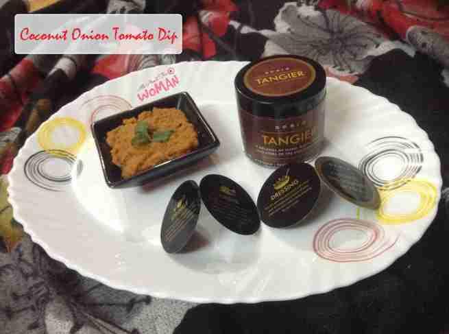 Coconut Onion Tomato Gourmet Dip Recipe