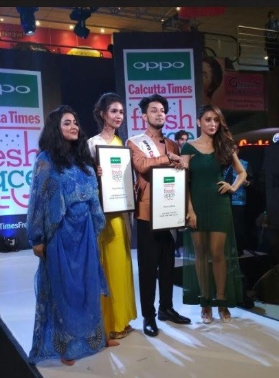 10th edition of the OPPO Times Fresh Face in the Kolkata city finale