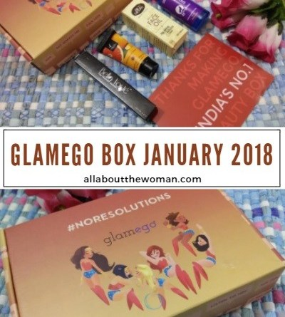 What's Inside the Glamego Box January 2018