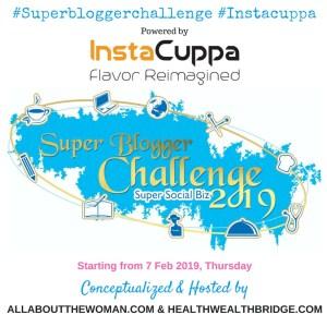 SUPER BLOGGER CHALLENGE