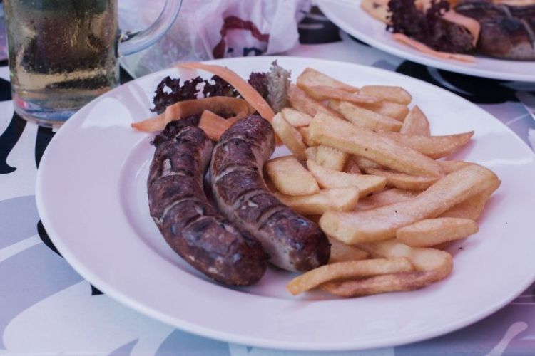 Food in Vienna - Käsekrainer
