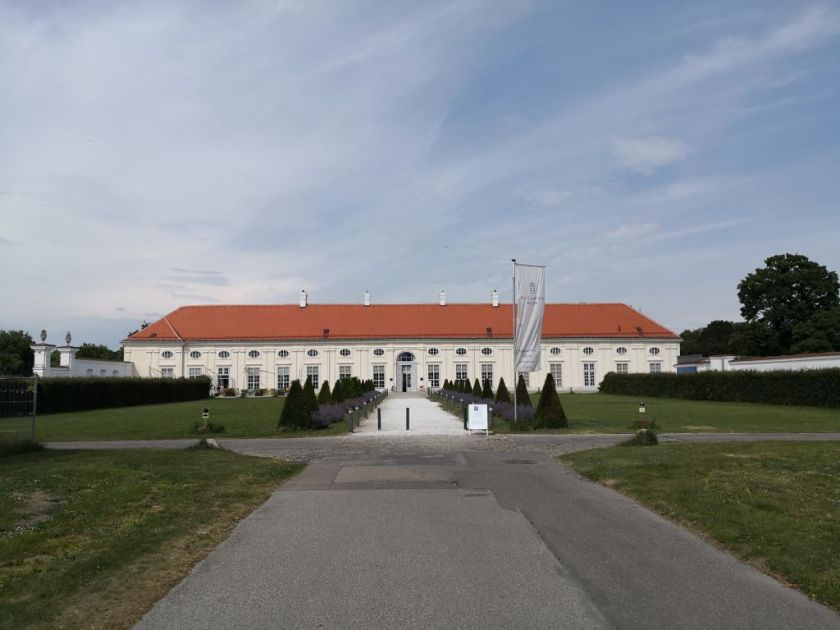 Augarten porcelain museum and factory