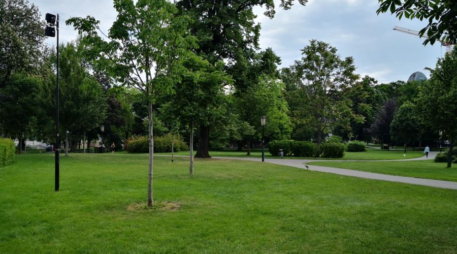 Burggarten - small but must-see park in Vienna