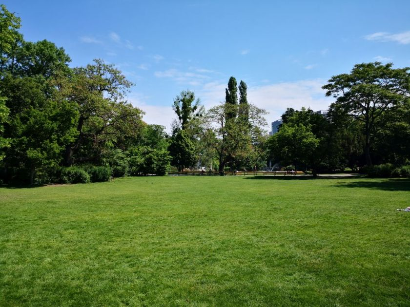 Stadtpark - one of the lawns