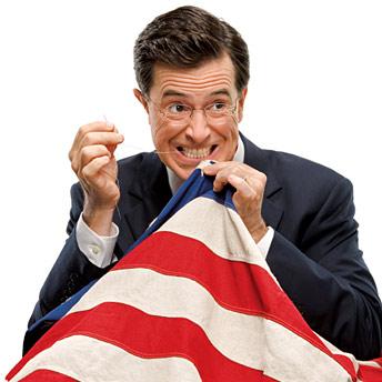 Colbert running for president