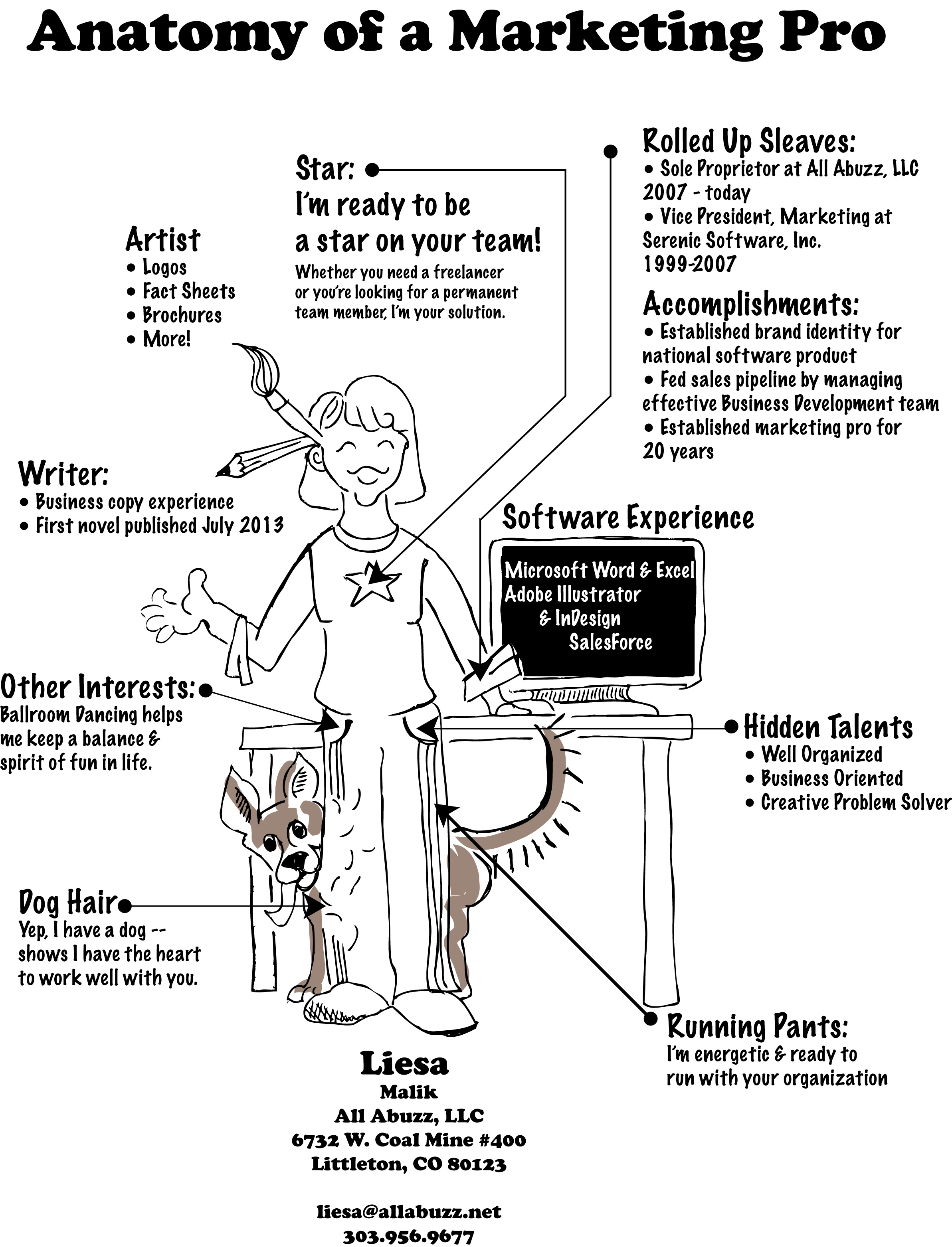infographic all abuzz business writing marketing